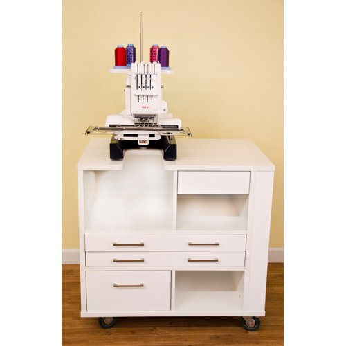 Lovely Arrow Sewing Cabinets Ava Melamine Sewing Table