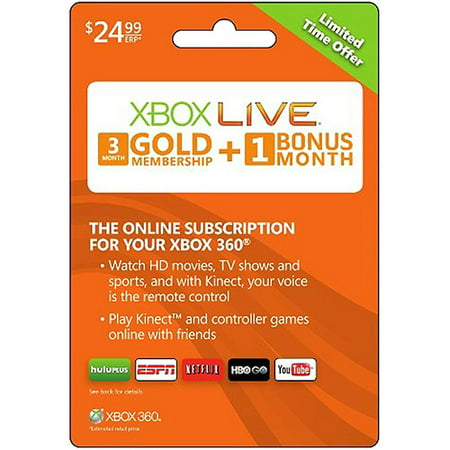 12+1 Month Gold Card