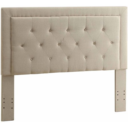 Linon Clayton Button Tufted Headboard, Multiple Colors, Multiple Sizes ()