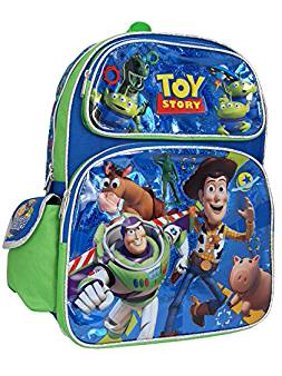 5c2d6d6afd4 Product Image Backpack - Disney - Toy Story - Buzz Woody Blue Shiny 16