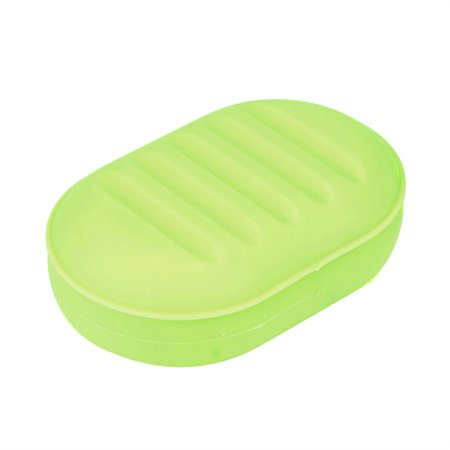 c79ab7707232 Soap Box Shower Plate Hiking Bathroom Home Case Container Travel Holder  Dish New - Walmart.com