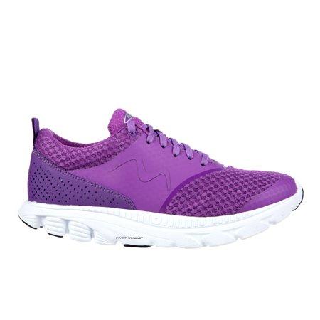 b976758af599 MBT - MBT Shoes Women s Speed 17 Lace Up Athletic Shoe  6 Medium (B)  Purple Mesh Lace - Walmart.com