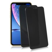 """[2 Pack Set] Privacy Glass Screen Protector for iPhone 11 6.1"""" 2019 [With Installation Tray] Full Protection Anti Spy Tempered Glass Shield Film Guard [Case Friendly] by Insten"""