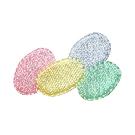Jellies Embellishments - ID 3353 Pile of Jelly Beans Patch Easter Candy Treat Embroidered IronOn Applique