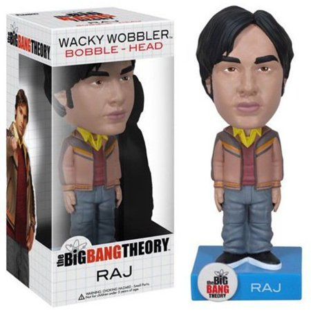 Funko The Big Bang Theory Wacky Wobbler Raj Bobble Head