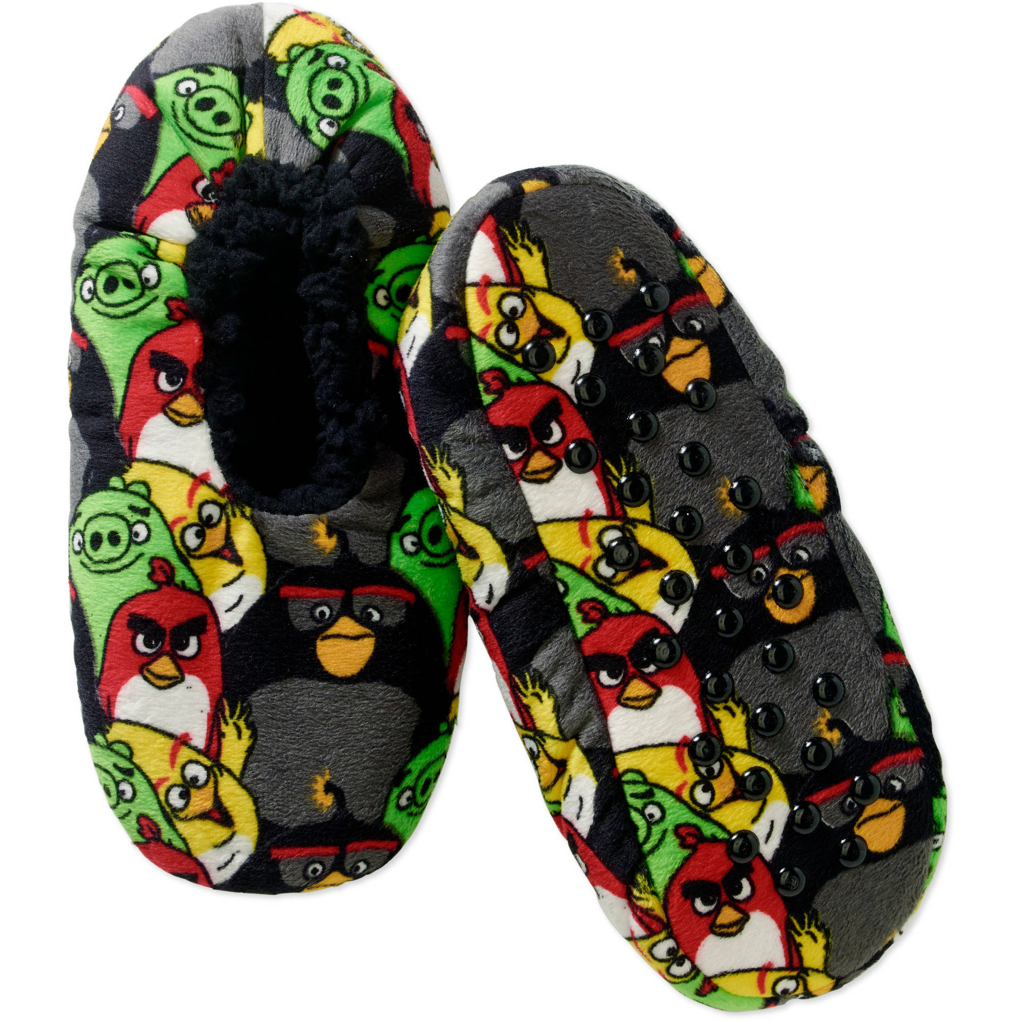 Angry Birds Boys' Silky Suede Babba, 1 Pack