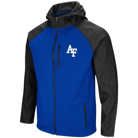 Air Force Academy FalconsMen's Full Zip Jacket Hut Hooded Full