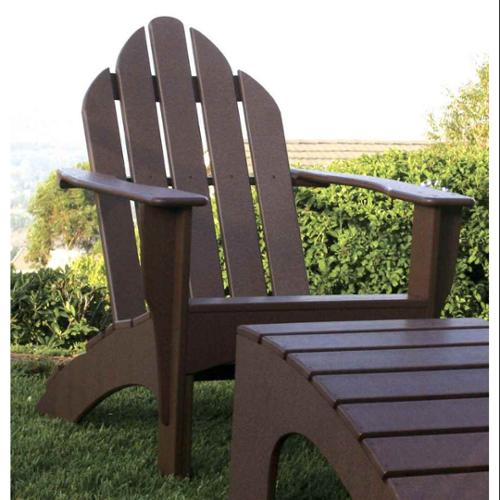 Eco-friendly Adirondack Chair (Brown)