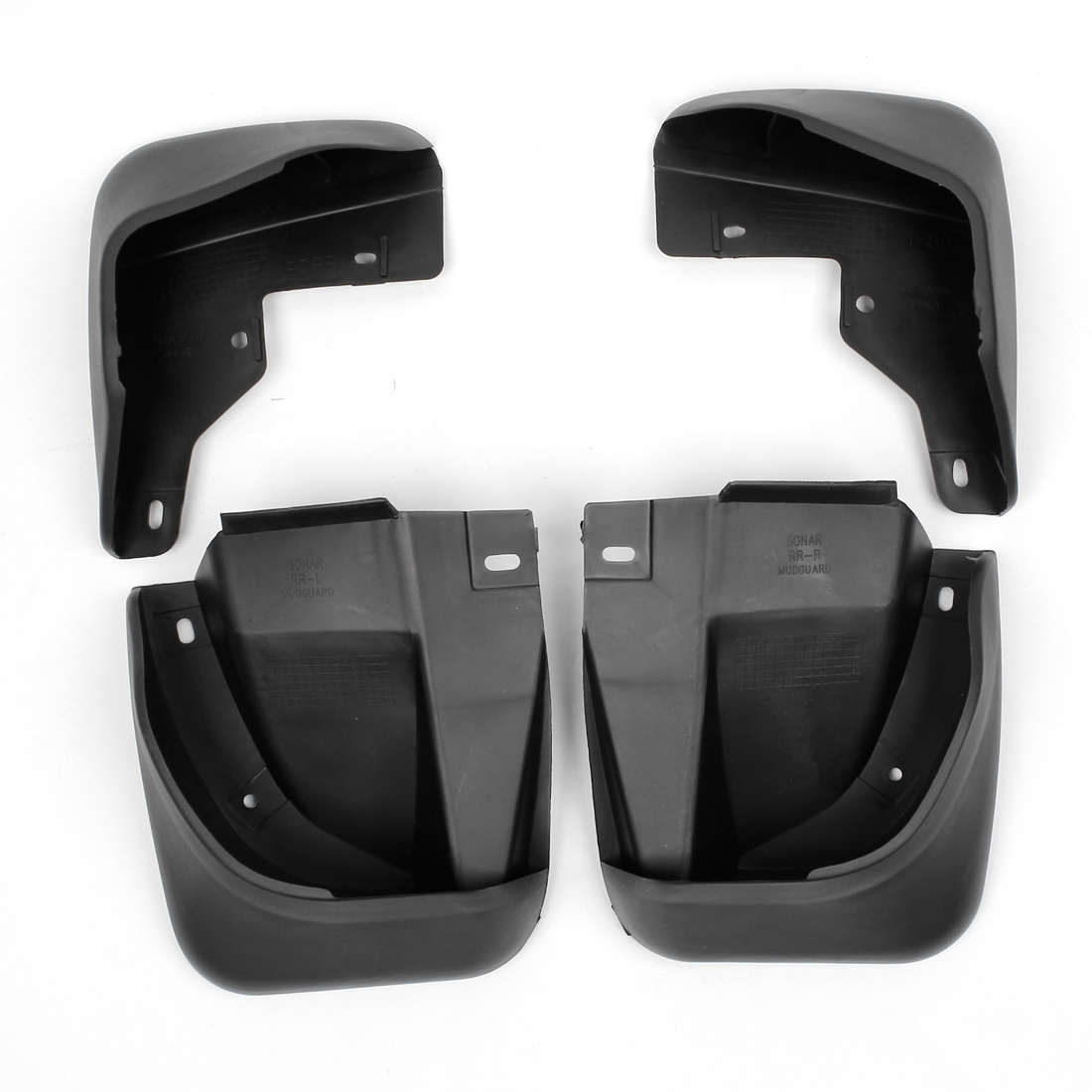 Unique Bargains 4 in 1 Splash Guards Front Rear Mud Flaps Protectors Set for Honda Accord 2.3