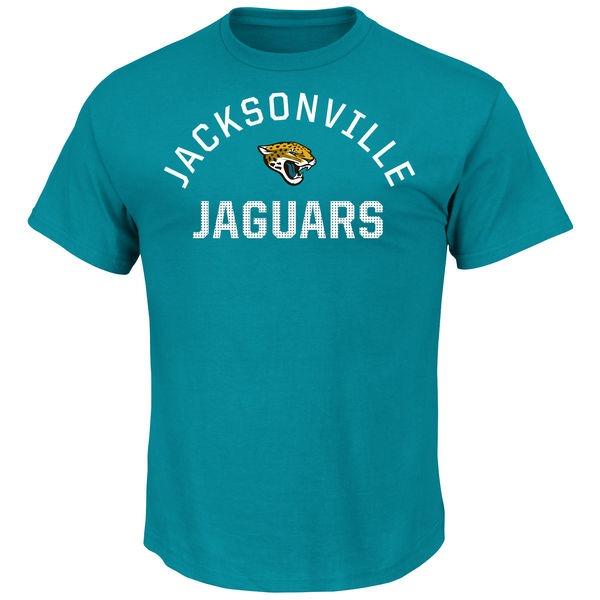 Jacksonville Jaguars NFL Majestic Men's Blue Team Graphic T-Shirt