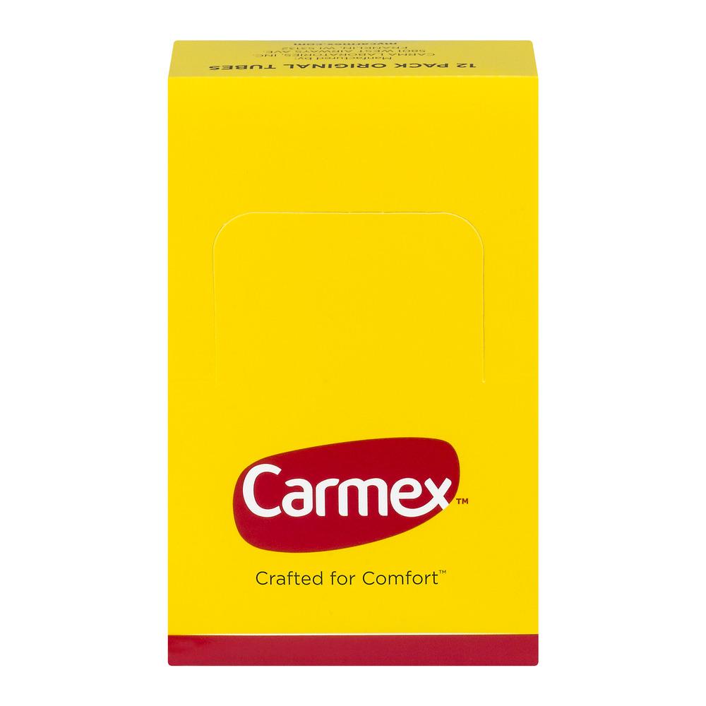 Carmex Lip Balm Original Tubes - 12 PK, 12.0 PACK