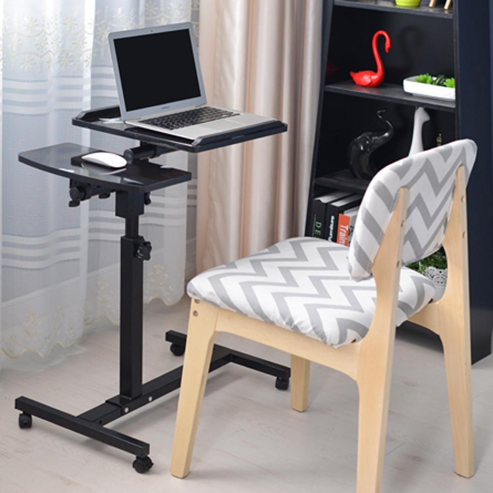Adjustable Portable Laptop Table Stand Lap Sofa Bed Tray Computer Notebook