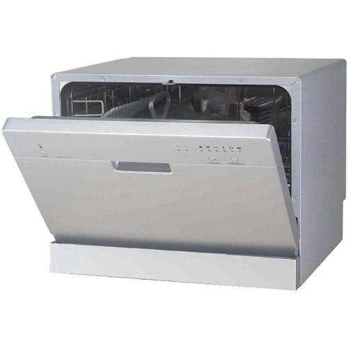 Sunpentown Countertop Dishwasher, Silver