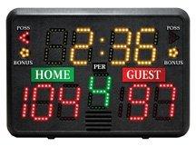 Portable Tabletop Scoreboard Basketball Volleyball Wrestling Lacrosse by