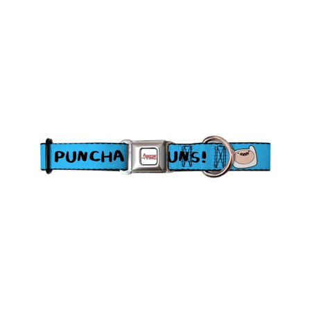 Adventure Time Animated TV Series Puncha Yo Buns! Seatbelt Pet Dog Cat Collar](Yo Dog)