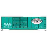 Accurail 36409 HO KIT 40' Double Door Steel Box, NYC