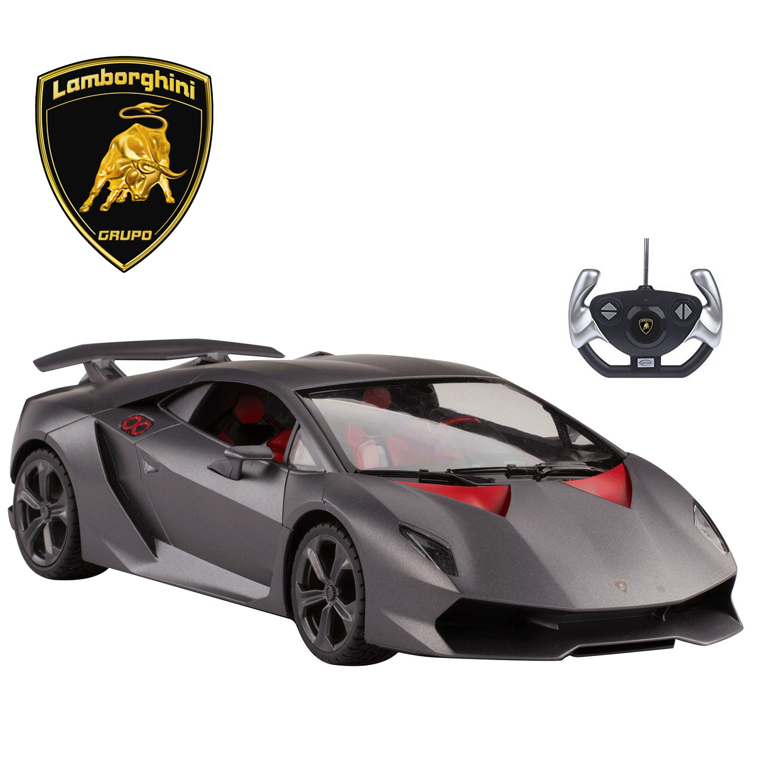 Licensed RC Car 1:14 Scale Lamborghini Sesto Elemento | Rastar Radio Remote Control 1/14 RTR Super Sports Car Model