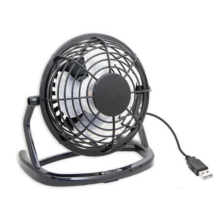 USB Mini Desktop Cooling Fan with Adjustable (Deluxe Usb Cooling Fan)