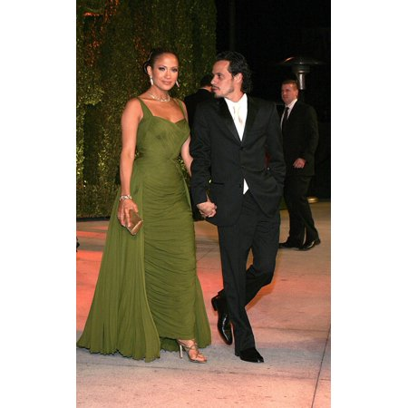 Jennifer Lopez Marc Anthony At Arrivals For Vanity Fair Oscar Party Mortons Restaurant In West Hollywood Los Angeles Ca Sunday March 05 2006 Photo By Jeff SmithEverett Collection Celebrity