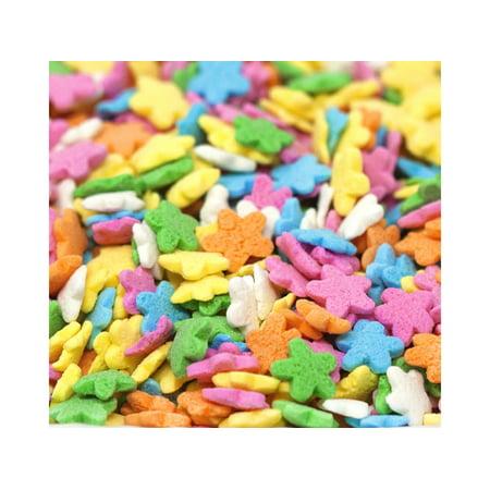 Oasis Supply Pastel Stars Sprinkle Quins, 8 oz - Star Sprinkles