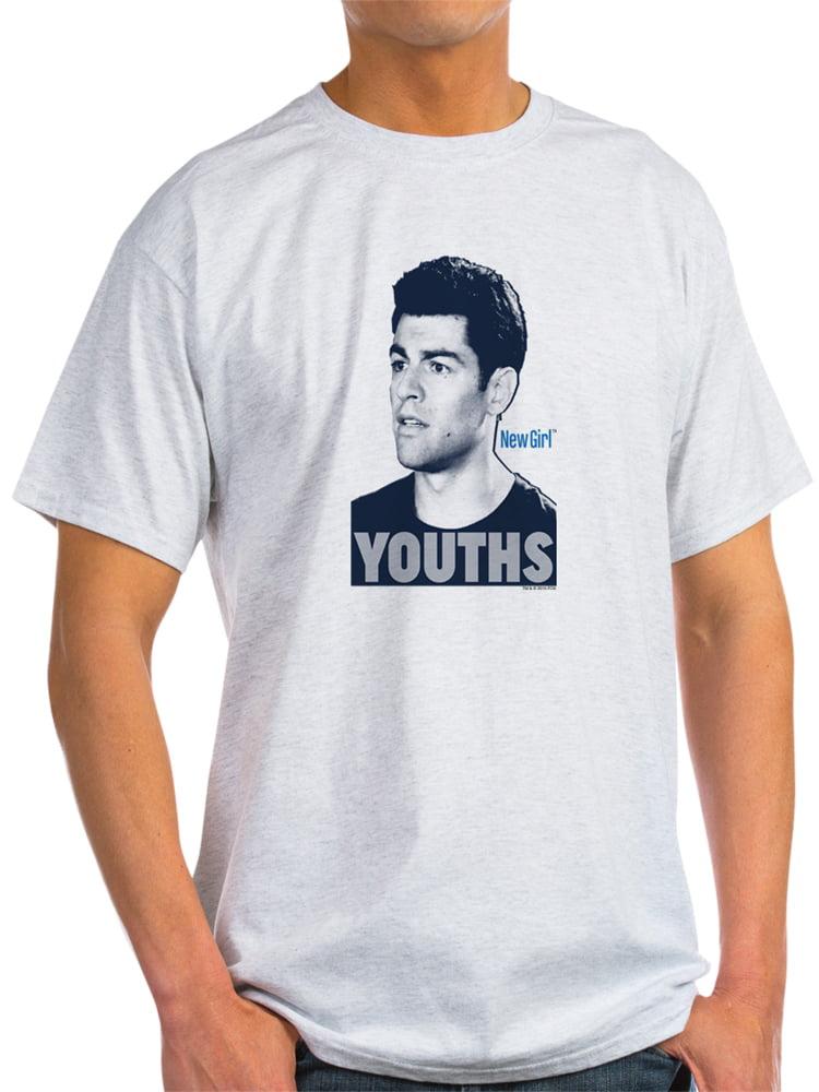 CafePress - New Girl Youths - Light T-Shirt - CP