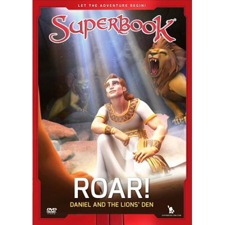 Superbook Roar! : Daniel and the Lion's (Daniel In The Lion's Den Craft)