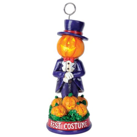 Pack of 6 Halloween Mr. Pumpkin Best Costume Trophy Party Decorations 6