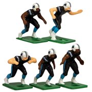 Carolina Panthers Dark Uniform Action Figures Set - No Size