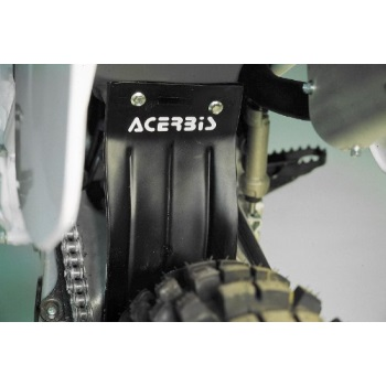 acerbis airbox mud flap - black , color: black 2081670001