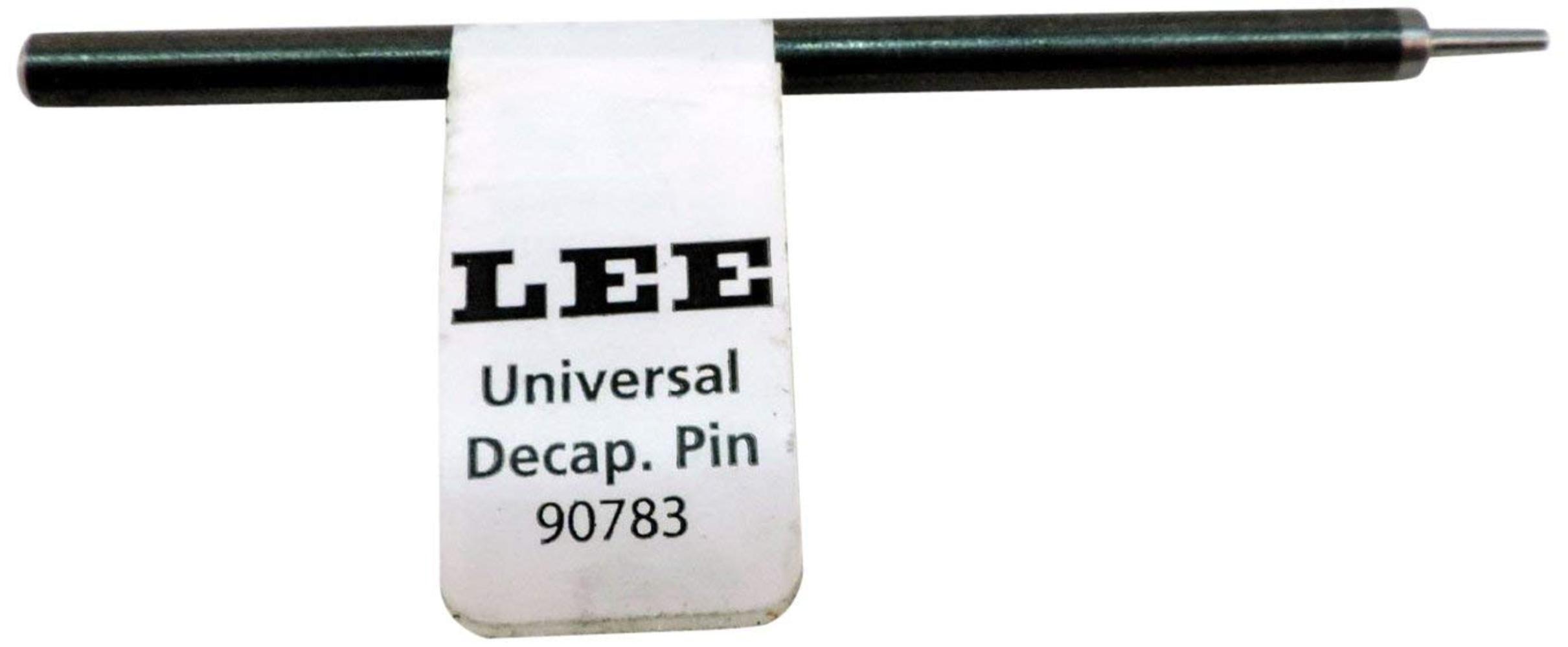 solo accessorio ricarica pin Lee Precision Universal DECAPPING PIN 90783