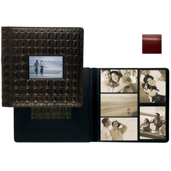 Raika RM 113 RED 4 x 6 Large Frame Front Album - Red