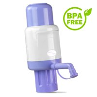 Tera Pump TRPMW200 Manual Drinking Water Disepenser for 2 - 6 Gallon Water Bottle (Not for Glass Bottles) BPA Free