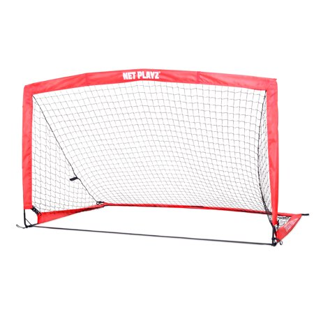 - NET PLAYZ 6.6 Ft x 3.3 Ft Instant Portable Soccer Goal (Carry Bag Included)