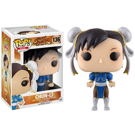 - FUNKO POP! GAMES: STREET FIGHTER - CHUN-LI