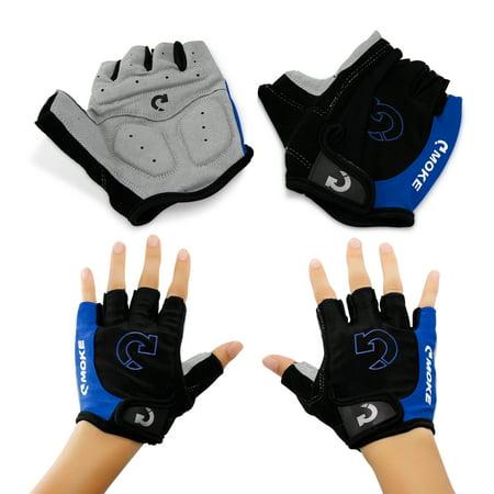 New Fashion Motorcycle Half-Finger Gloves, M-XL (Icon Tarmac Gloves)