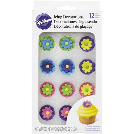 Wilton Icing Flower Double Stacked, Multicolored - Wilting Flower