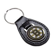 Boston Bruins Official NHL Leather Key Fob Keychain by Evergreen 055257