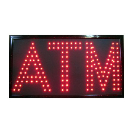 - NeoPlex ATM LED Sign Hanging Lamp
