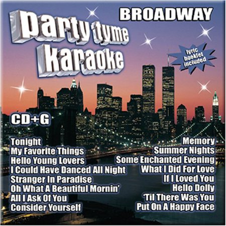 Party Tyme Karaoke - Broadway (16-song CD+G)