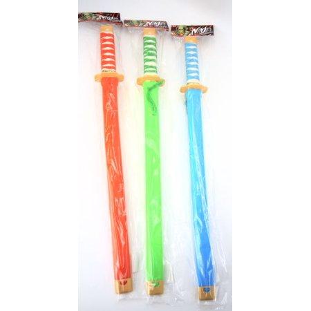 Japanese Samuri Soft Sword Toy One Random Color