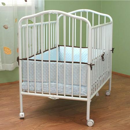 l a baby mini portable crib. Black Bedroom Furniture Sets. Home Design Ideas