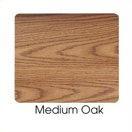 Safco Medium Oak Stand-Up Lectern Podium - image 1 de 2