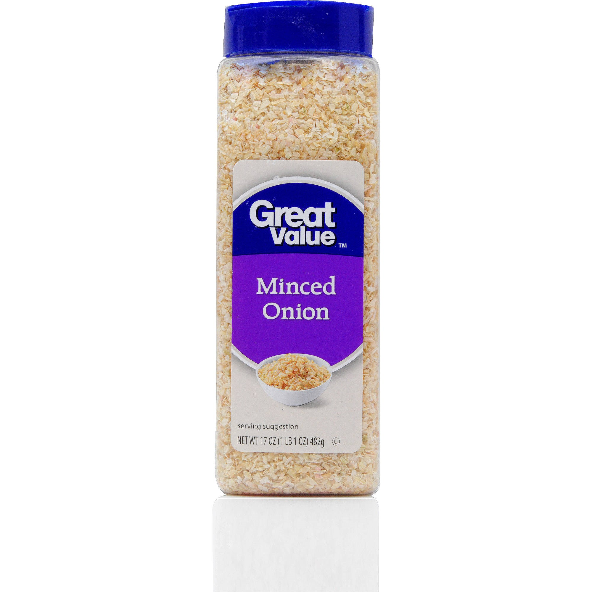 Click here to buy Great Value Minced Onion Seasoning, 17 oz by WAL-MART STORES INC.