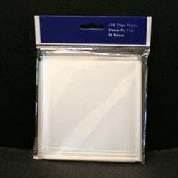 Crystal Clear Vinyl CD/DVD Sleeves - No Flap (100 pack) Cd Vinyl Sleeve Holds