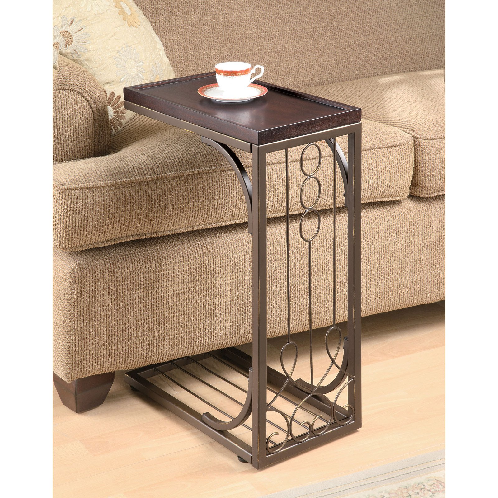 Coaster Brown Snack Table
