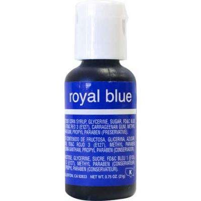 Chefmaster Liqua-gel Colour - Royal Blue - .75 oz
