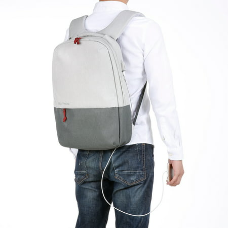 SLYPONS Business Laptop Backpack with USB Charging Port Fits 15.6 inch  Laptop 026472b44e06a