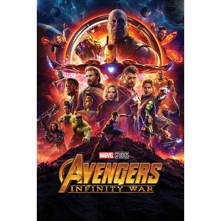 Avengers: Infinity War - Movie Poster / Print (Regular Style) (Size: 24