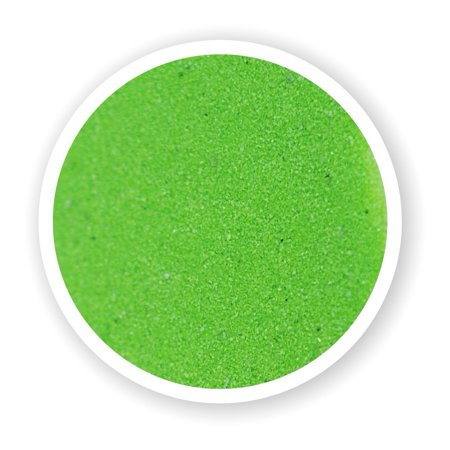 Sandsational Lime Green Unity Sand, 1 Pound, Colored Sand for Weddings, Vase Filler, Home Décor, Craft - Sand Crafts