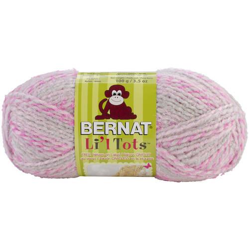 Li'l Tots Yarn-All Pink